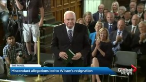 Misconduct allegations led to Wilson's resignation